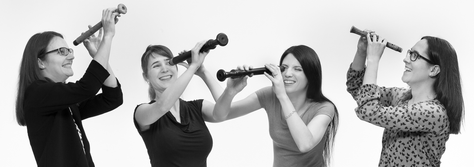 La Merula Quartett, Ensemble: Aline Arman, Maria Hänggi, Anja Margarita Kaufmann, Nicole Meule – Blockflöten